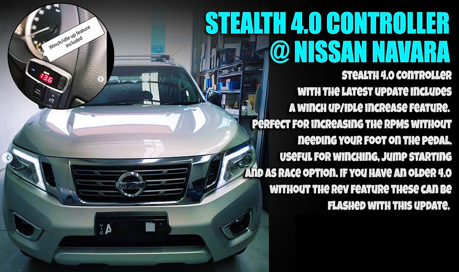 REVHIGH STEALTH 4.0 CONTROLLER NISSAN.jp