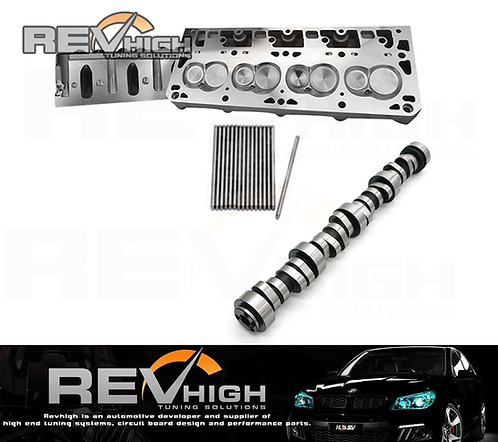 PRC 15-Degree 220cc As-Cast Cathedral Heads & Cam Package
