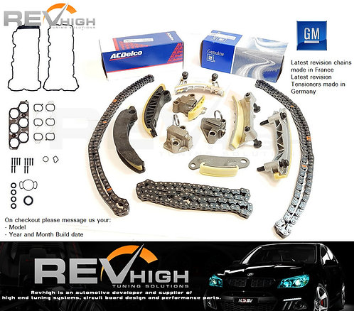 VZ VE 3.6L LY7 LE0 Timing Chains Commodore Colorado Rodeo