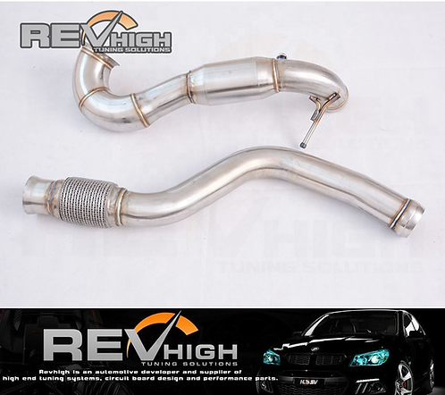 Mercedes Benz 14-16 A45 AMG/14-15 CLA45 AMG GLA45 AMG Catted Downpipe