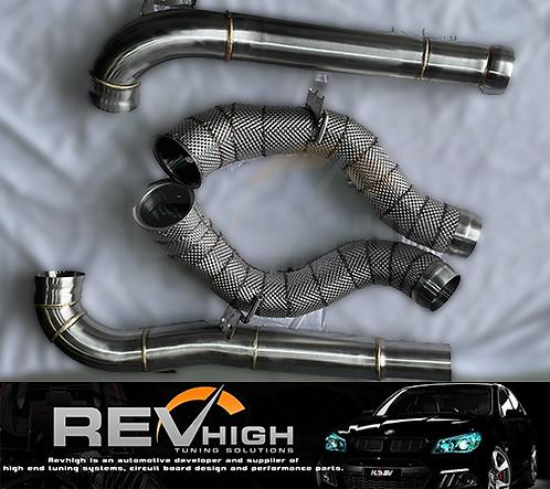 2016+ Mercedes Benz W213 M178 E63 AMG V8 Downpipe Dump Down Pipe Exhaust Tune