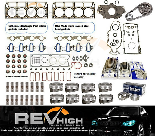 5.7L Holden LS1 5.7L Commodore rebuild VX VT VY VZ Heads Bolts Gaskets Lifters