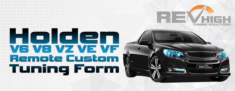 Holden V6 V8 VZ VE VF Remote Custom Tuni