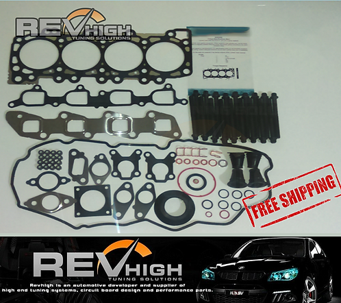 Revhigh YD25 VRS Head Gasket Head Bolt Set Nissan Navara D40 Pathfinder R51 2.5