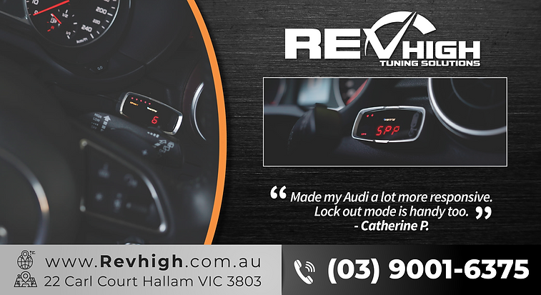 Revhigh AUdi Stealth Controller with Rev