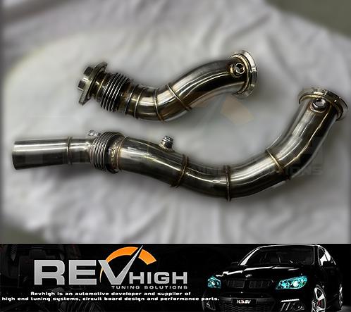 """2014-19 BMW 3.5""""- 3"""" S55 F80 F82 M3 M4 Downpipe Down Dump Pipe Exhaust Tune"""