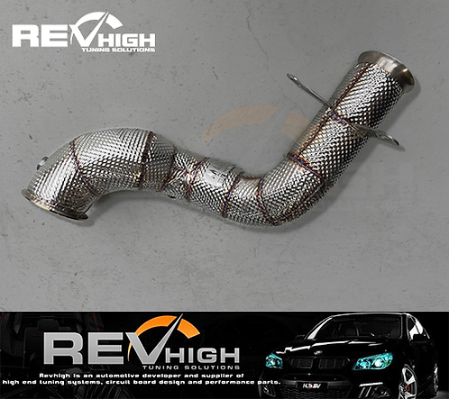 2015+ RHD Mercedes Benz C-Class C200 C250 C300 W205 Decat High Flow Downpipe Exh