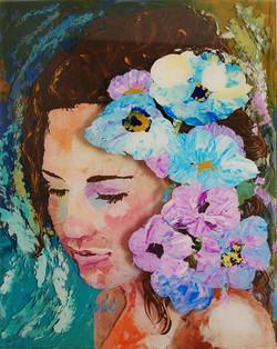 Flowers in her head
