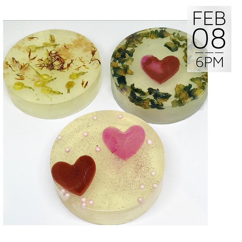 Valentine Soap Making Workshop    $45