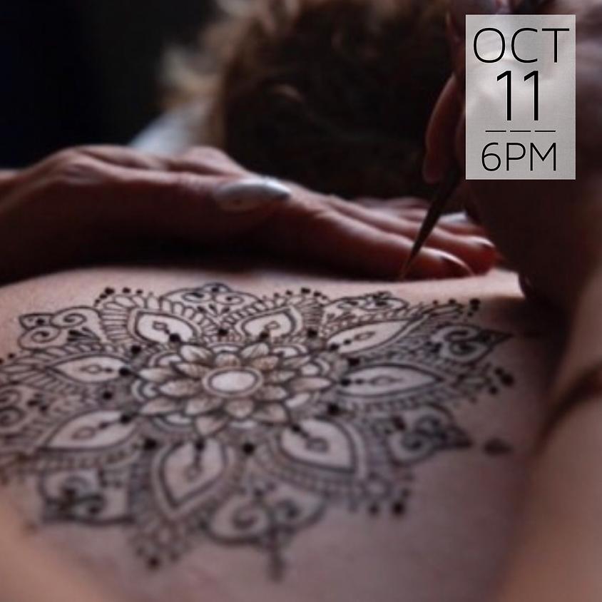 Henna Body Art History & Basics  || $45