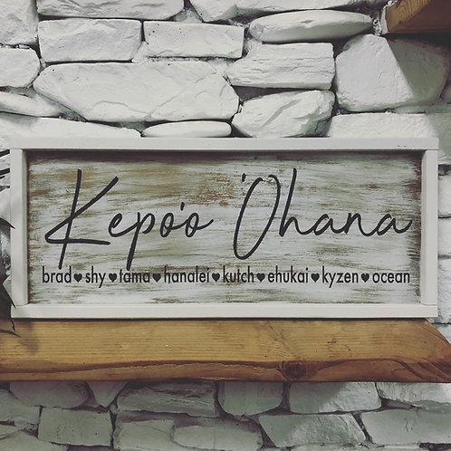 Last Name'Ohana - First Names