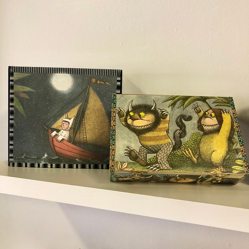 KEIKI Kraft: Decoupaged Boxes || $15