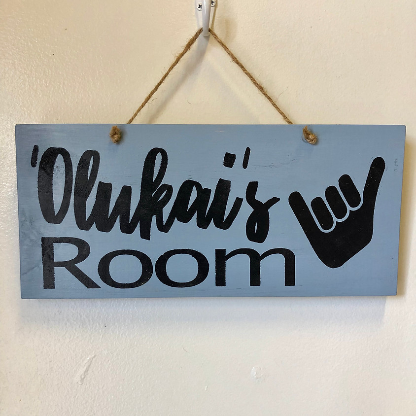 KEIKI Wood Signs    $25