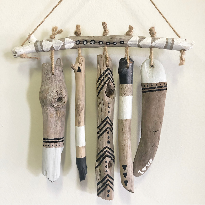 KEIKI Craft: Driftwood Wind Chime || $15