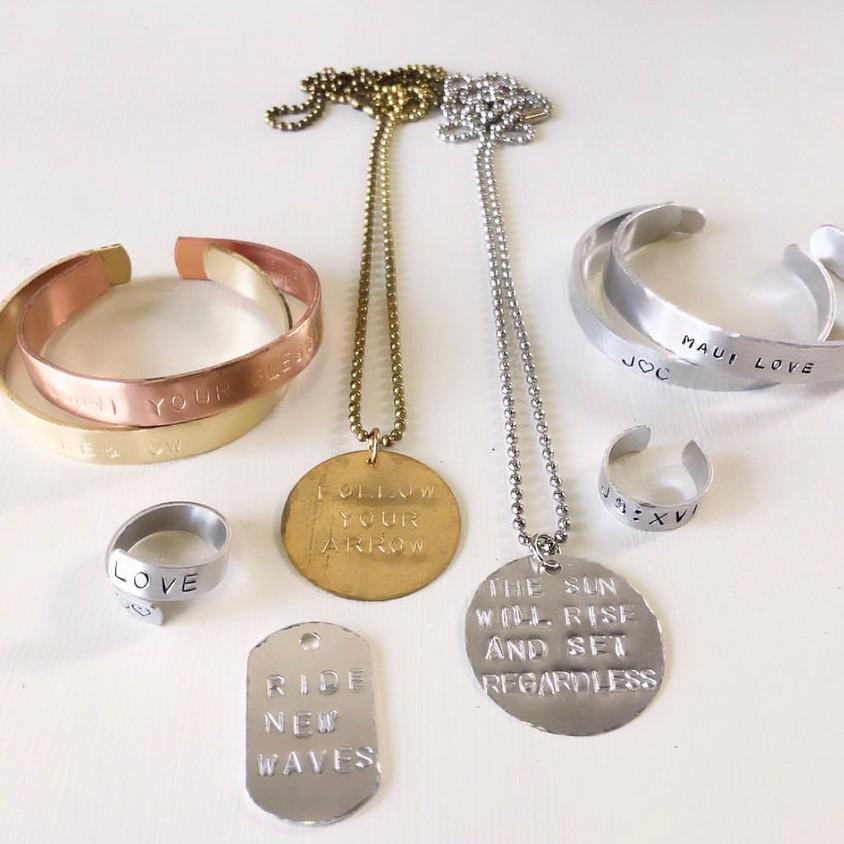 Jewelry Metal Stamping || $45 (1)