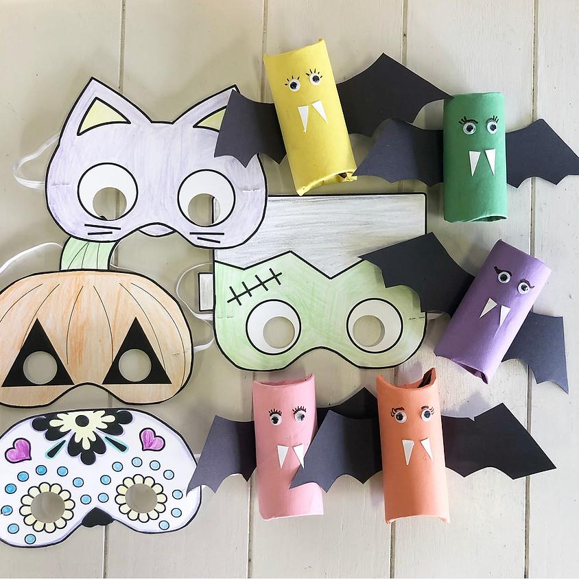 KEIKI Crafts: Halloween Crafts- FREE (First Friday)
