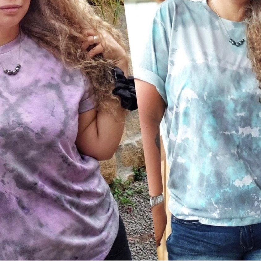Splatter Paint Technique Tie-Dye Shirts  || $25