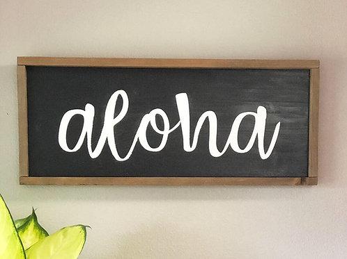 Aloha Calligraphy