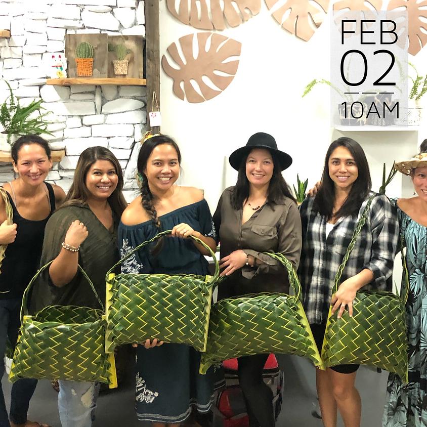 Coconut Tote Bag Workshop   || $60