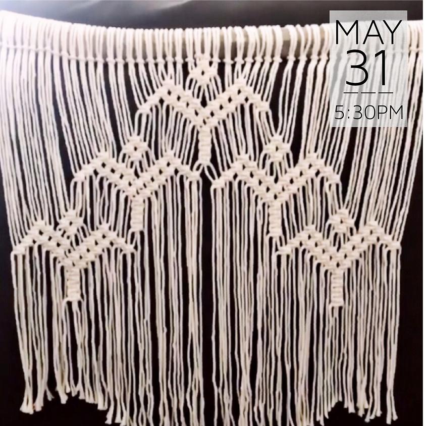 Macrame Wall Hanging Workshop || $60