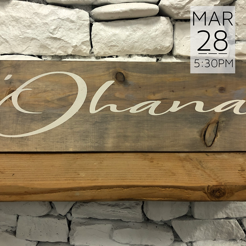 Private Wood Sign Workshop (D. Apana) || $45+