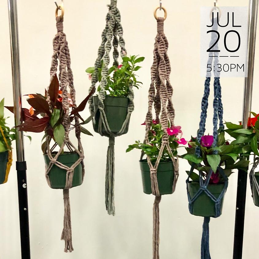 Macrame Plant Hanger Workshop || $35