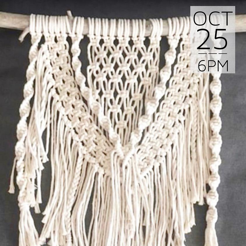 Macrame Wall Hanging Workshop || $50