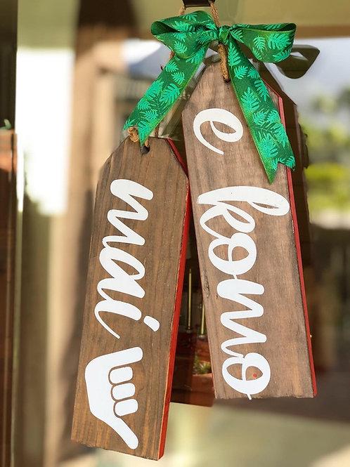 Wood Door Tags