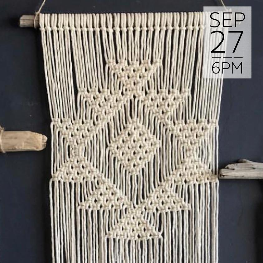 Macrame Wall Hanging Workshop    $55