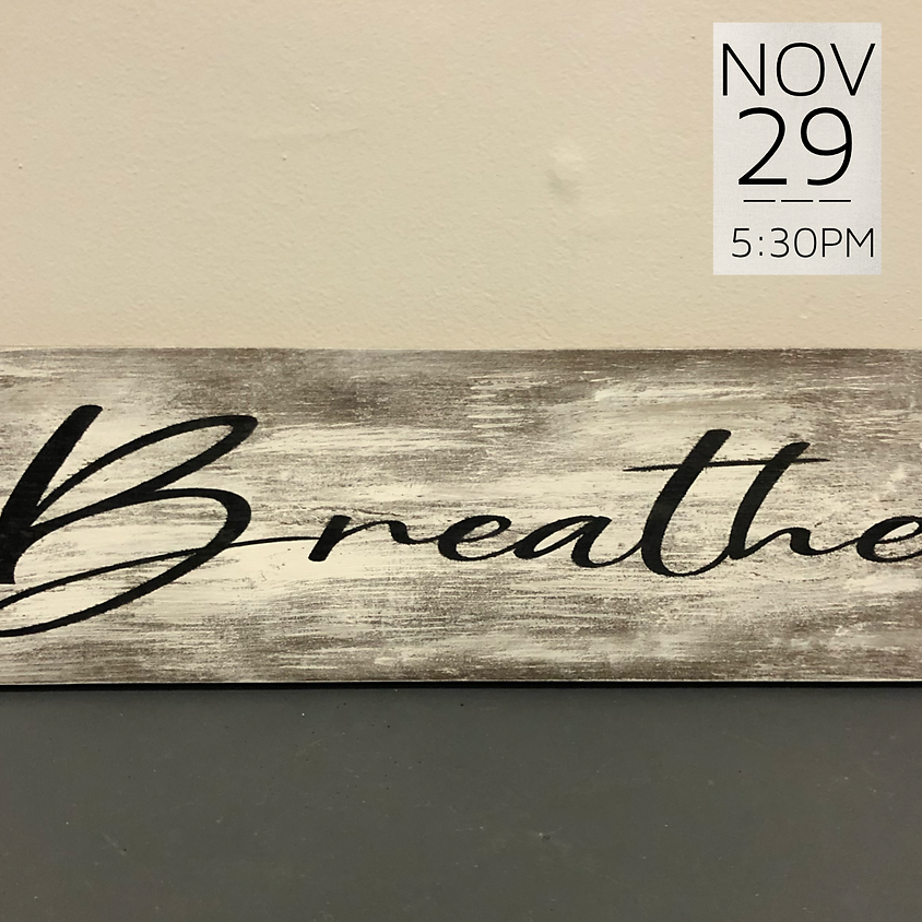 Private Wood Sign Workshop (A. Takai) || $45+