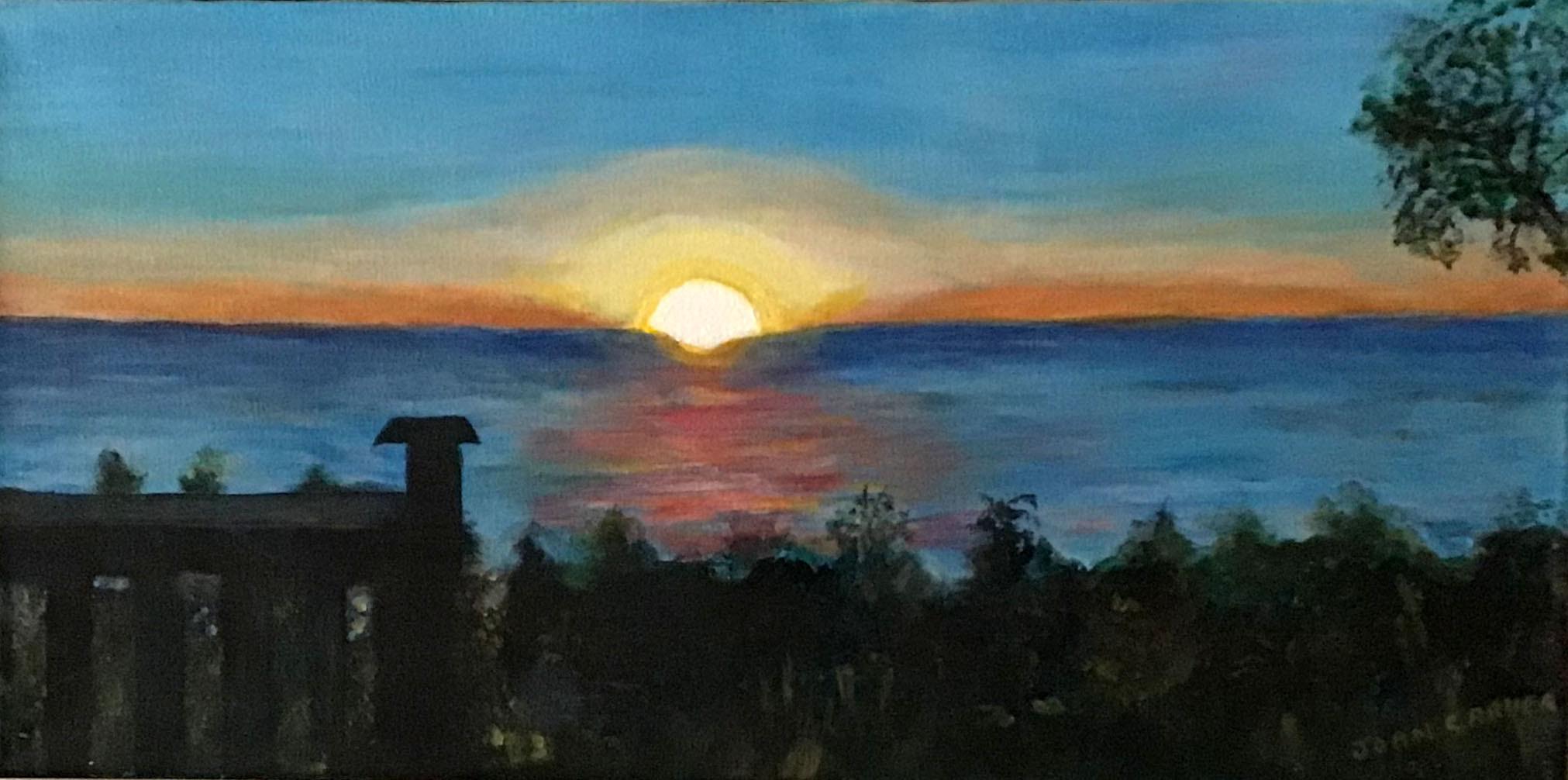 Paul Bunyan Sunset