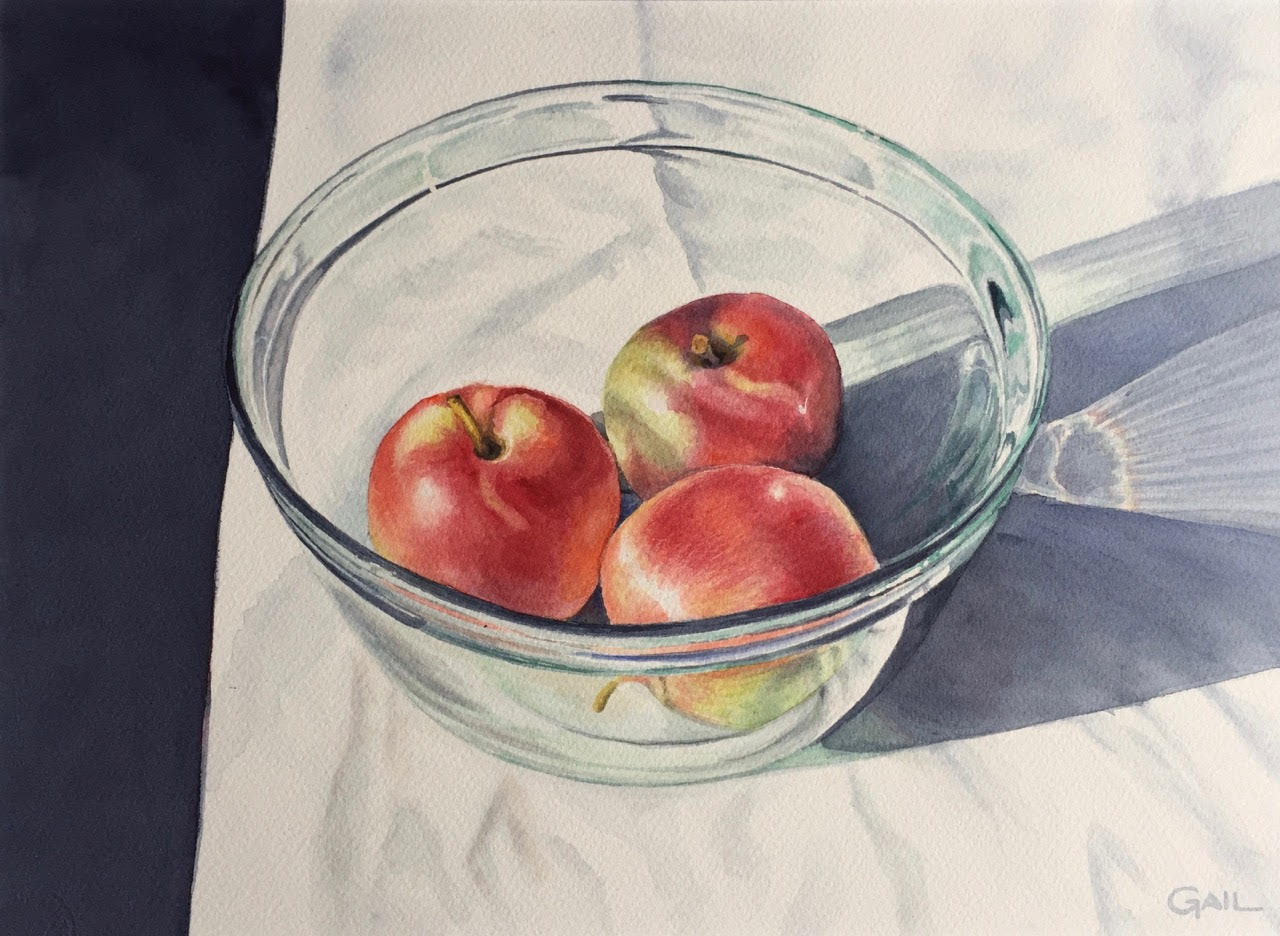 Gifford Apples in a Bowl