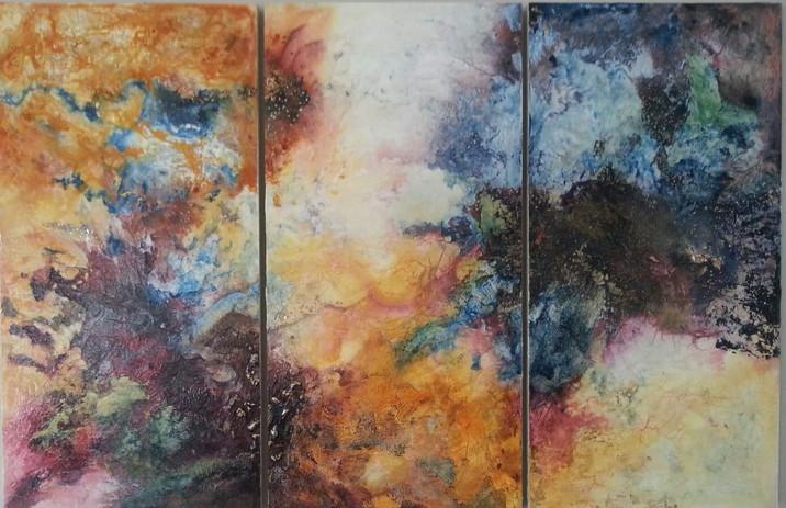 Nebula (Triptych)