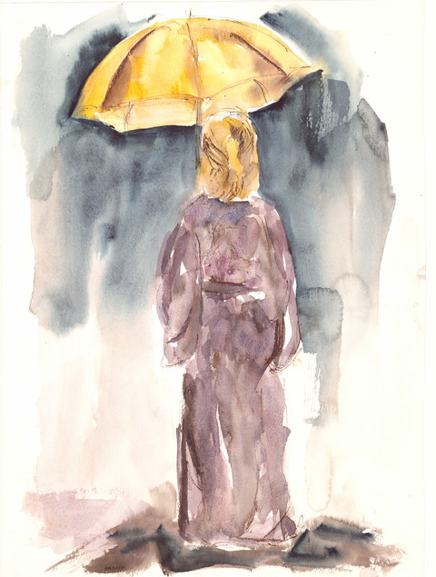 Onishi Yellow Umbrella