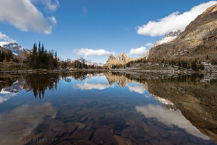 Lake Hungabee Reflection 2