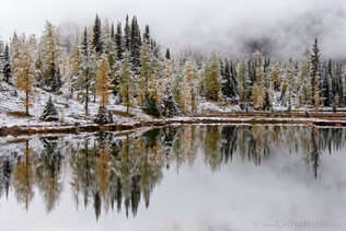 Lake Hungabee Reflection 1
