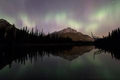 Cascade Aurora Reflection