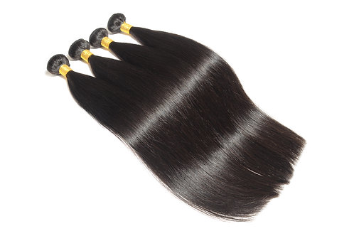 100% Virgin Remy Straight (Natural Black)