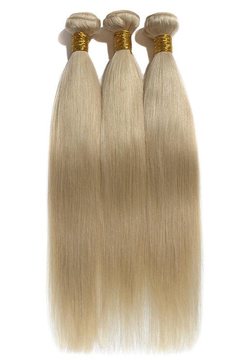 100% Virgin Remy Straight (Blonde)