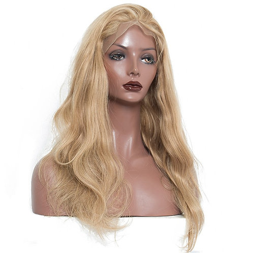 Lace Front Wig %150 density (blonde) Straight /Body wave