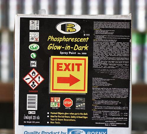 Bosny Glow in the dark สีเรืองแสง