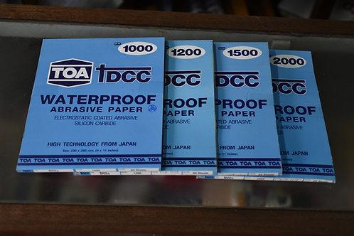 กระดาษทราย TOA