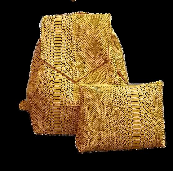 Backpack Komodo Jaune moutarde