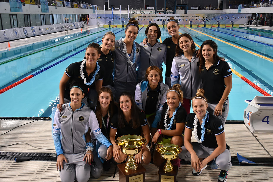 Natación - Sudamericano equipo masculino