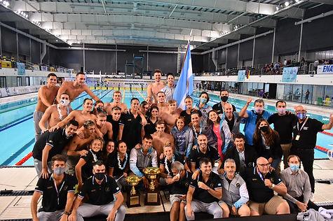 Natación - Argentina campeón sudamerican