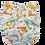 Thumbnail: Pastel Dino Junior charcoal pocket