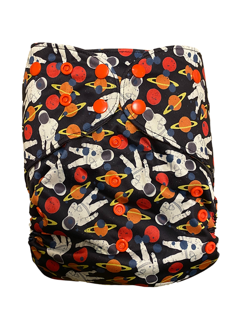 Space adventures   premium Junior charcoal pocket