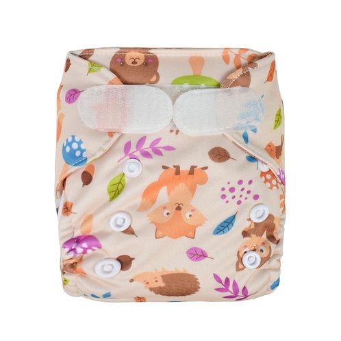 Foxes Newborn Wrap
