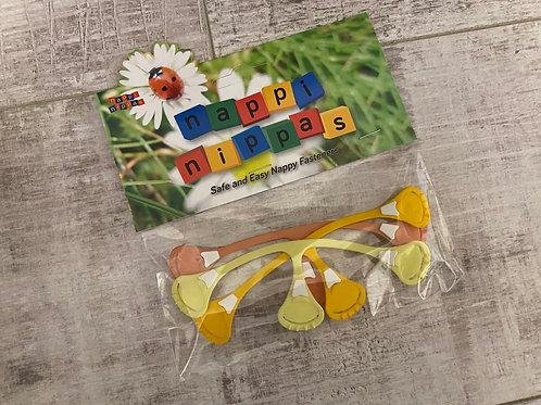 Yellows & oranges nappi nippas