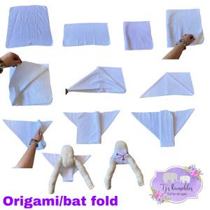 Origami/ bat fold